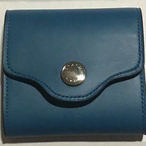 NWT Coach Leather Post It / Pad Holder